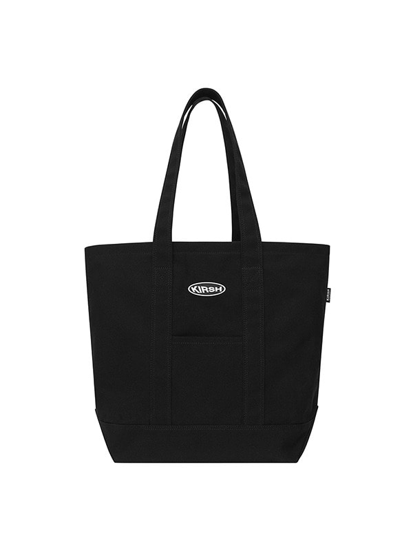 KIRSH POCKET TOTE BAG HS [BLACK]