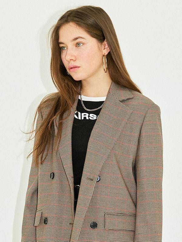 TAILORED JACKET HS [BROWN]