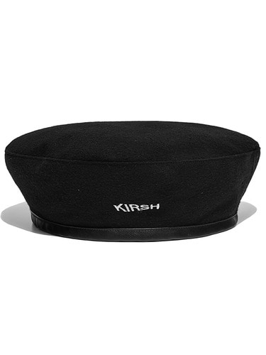 KIRSH BERET HA  [BLACK]