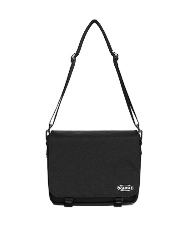 KIRSH POCKET MESSENGER BAG IS [BLACK]