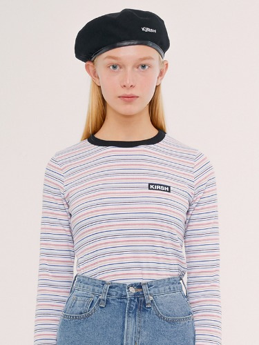 STRIPE T-SHIRTS IS [RAINBOW]