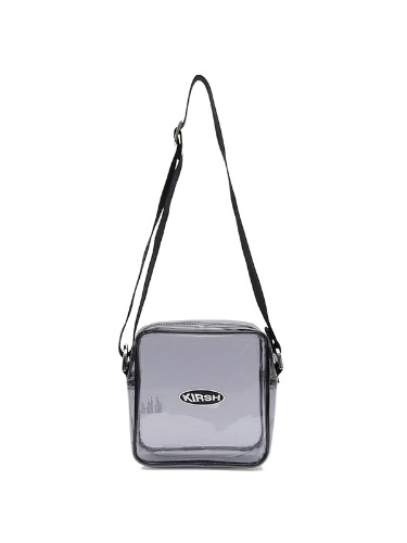 [BPS X KIRSH] KIRSH POCKET PVC MINI BAG IH [GRAY]