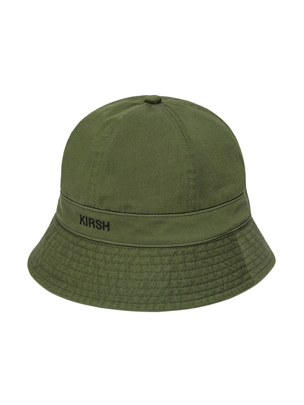 KIRSH LOGO BUCKET HAT HS [KHAKI]