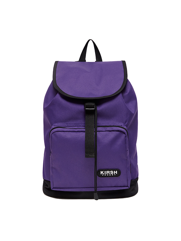 KIRSH POCKET DRAPE BACKPACK HS [PURPLE]