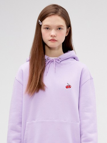 SMALL CHERRY HOODIE IS [PURPLE]