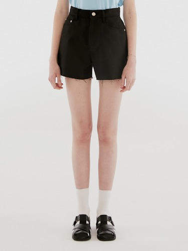 STITCH SHORTS IH [BLACK]
