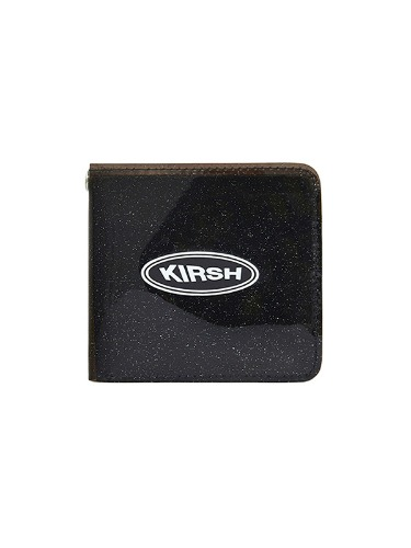 KIRSH POCKET PVC WALLET IH [BLACK]