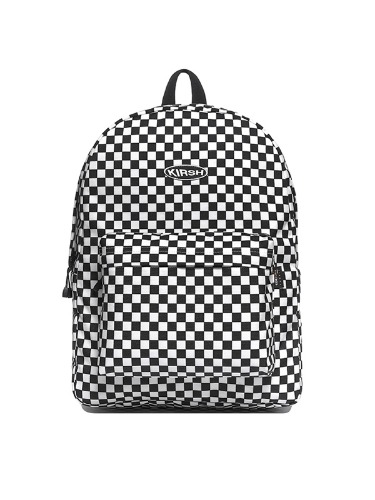 KIRSH POCKET CIRCLE LOGO BACKPACK IA [WHITE]