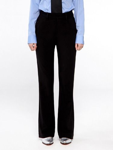 SLACKS BOOTS CUT IA [BLACK]