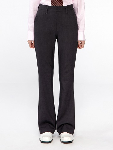 SLACKS BOOTS CUT IA [CHARCOAL GRAY]