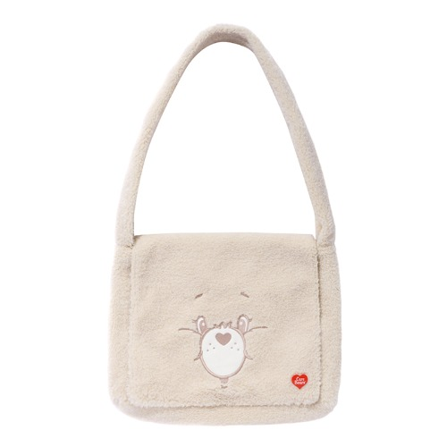 CARE BEAR SEARING CROSS BAG [CREAM]