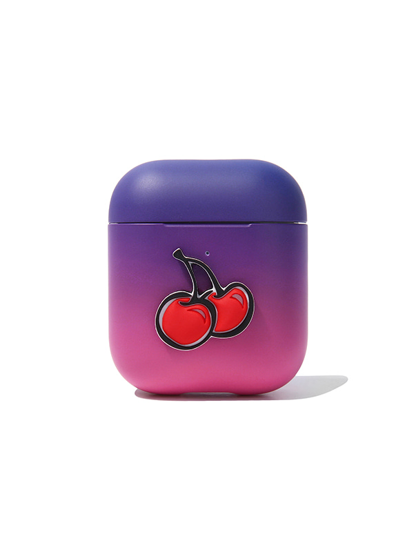 (2월26일 예약발송)GRADATION CHERRY AIRPOD JS [VIOLET]