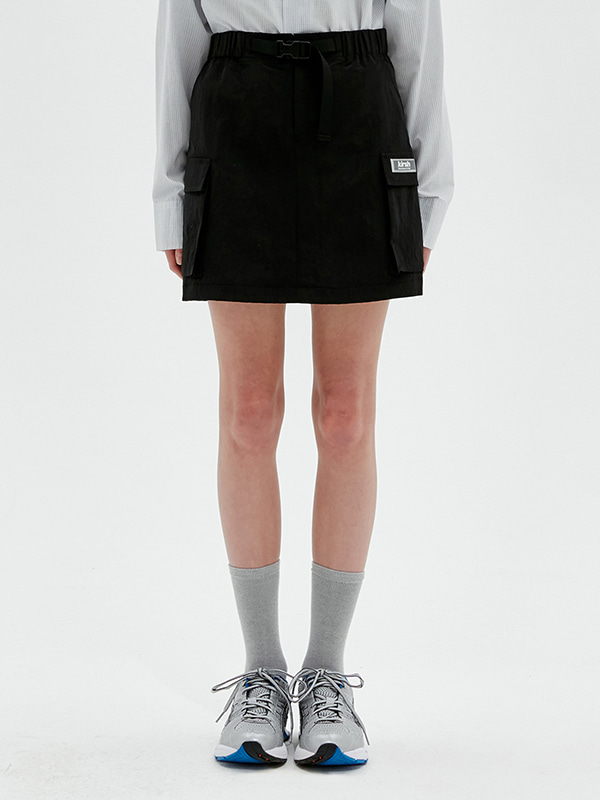 KIRSH POCKET SKIRT JS [BLACK]