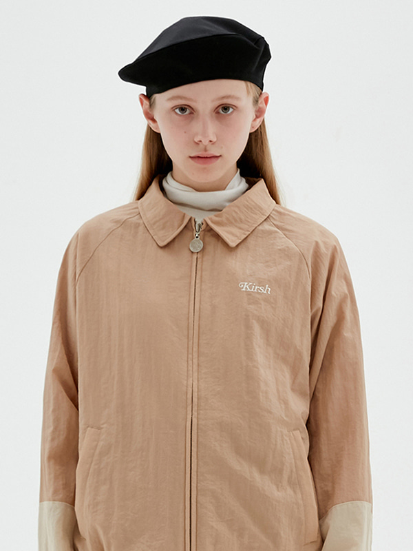 KIRSH TONE ONE TONE JACKET JS [BEIGE]
