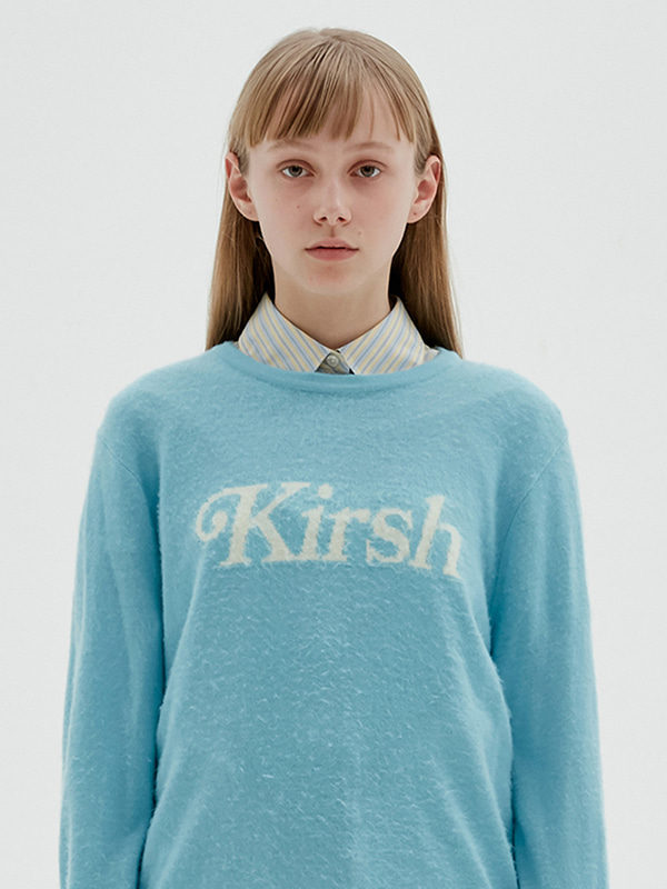KIRSH LOGO KNIT JS [MINT]