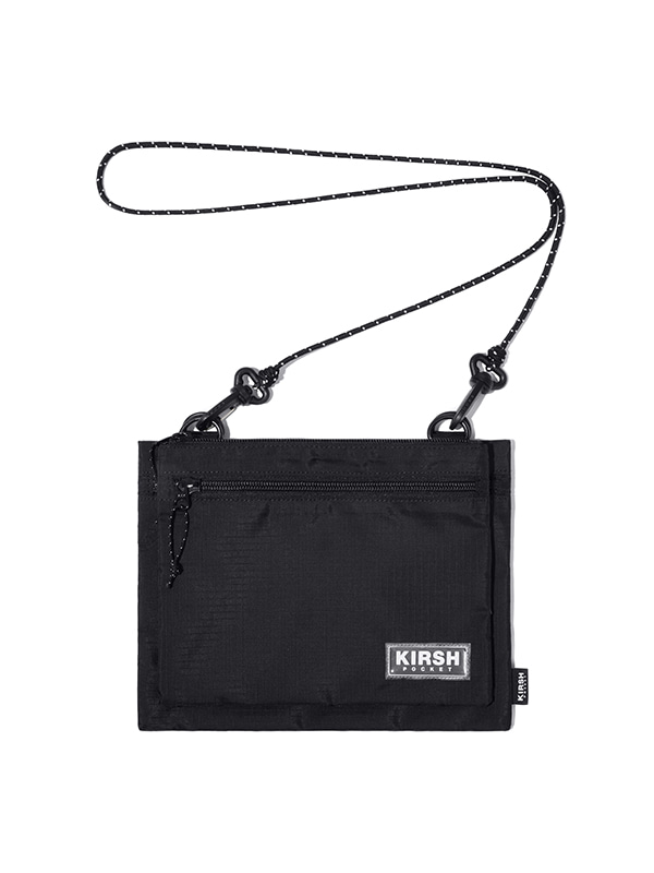 KIRSH POCKET 2-WAY SACOCHE BAG JH [BLACK]